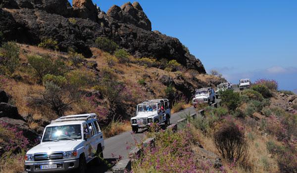 Jeep Safari in Gran Canaria-The island-Disfrutare