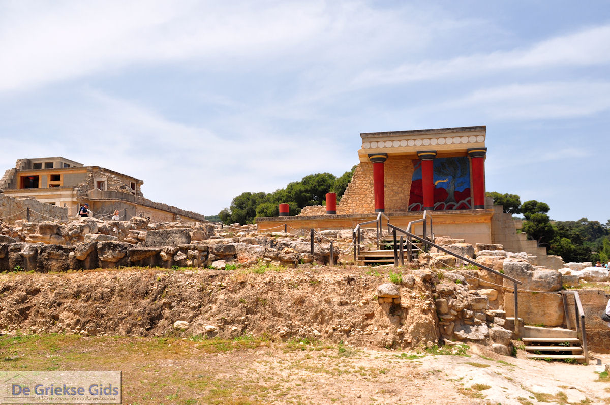 Knossos Heraklion Kreta | Informatie en tips Knossos