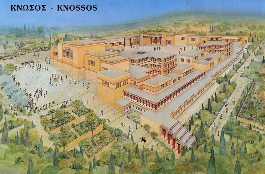 Knossos was groter en welvarender dan gedacht