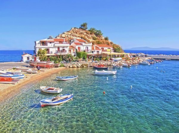 Samos foto's - foto album van het Griekse eiland Samos