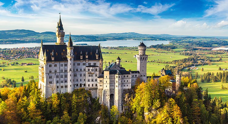 Sprookjesachtig Schloss Neuschwanstein