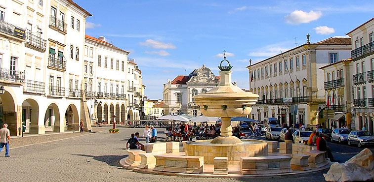 Toeristengids van Évora, Portugal