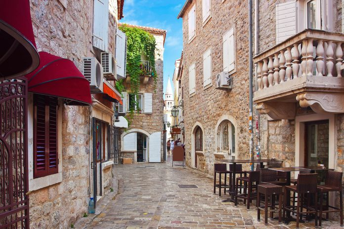 Budva Montenegro vakantie