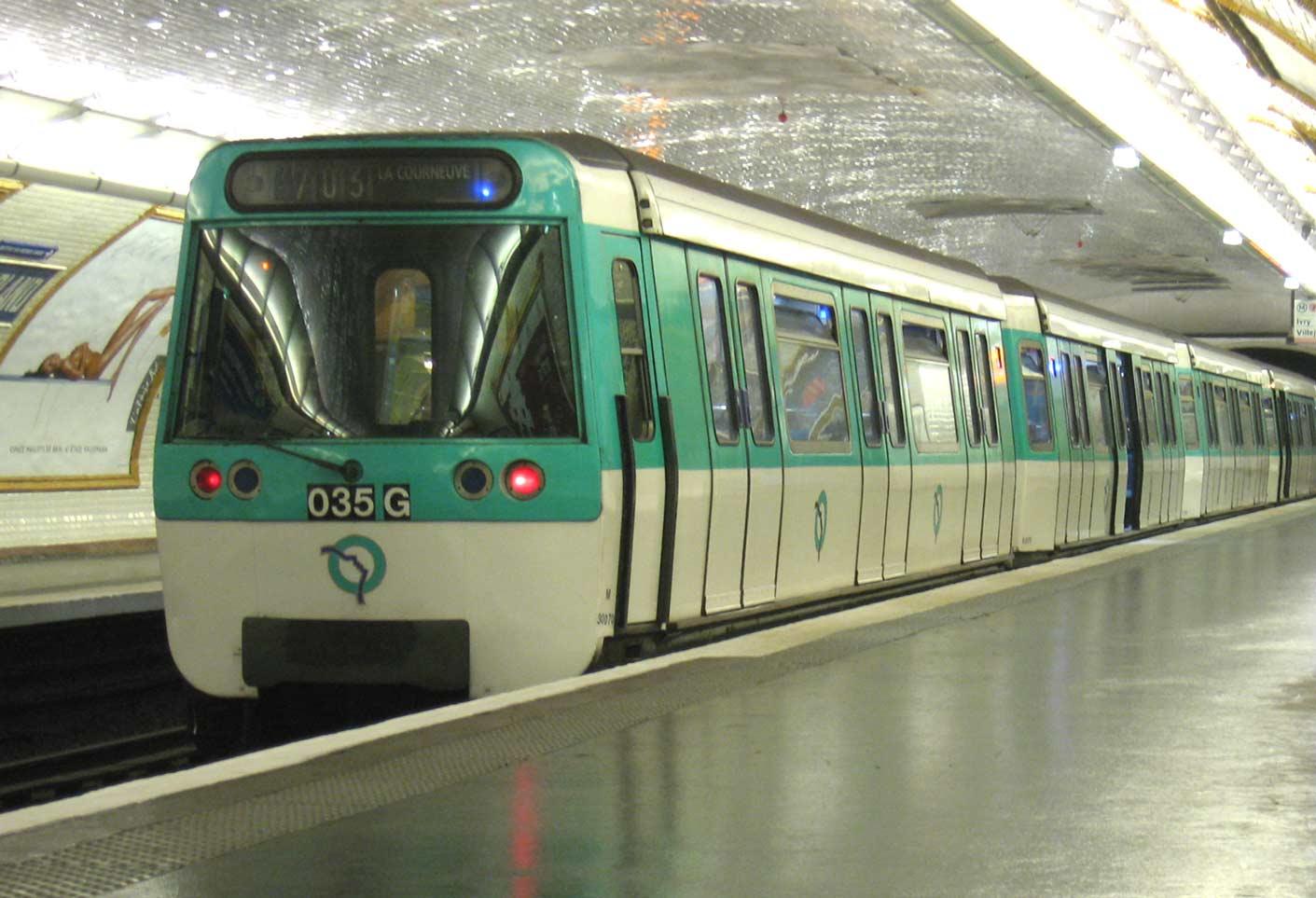 De metro van Parijs