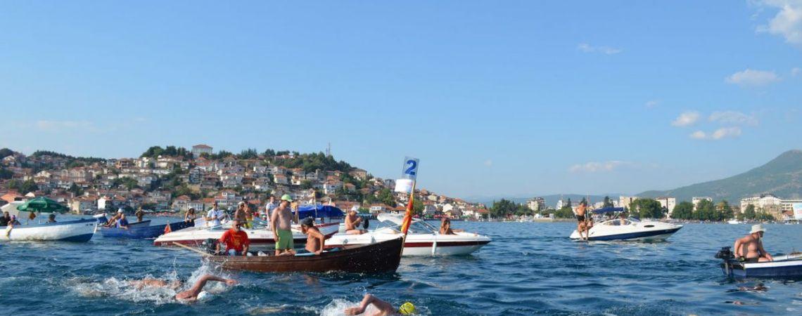 Meer van Ohrid, zwemmen en snorkelen