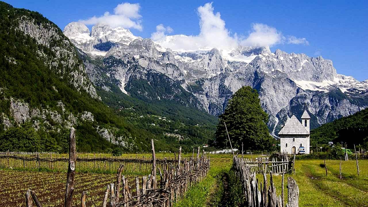 Theth Nationaal Park Albanië