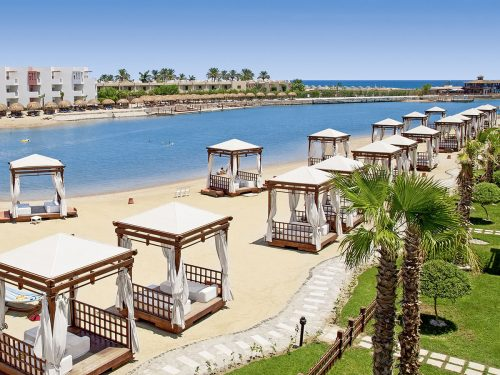 8 daagse vakantie naar Sunrise Grand Select Crystal Bay Resort in hurghada, egypte