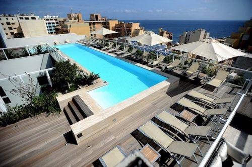 8 daagse vliegvakantie naar George Urban Boutique in st. julians, malta