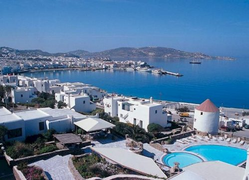 8 daagse vliegvakantie naar Porto Mykonos in mykonos-stad, griekenland