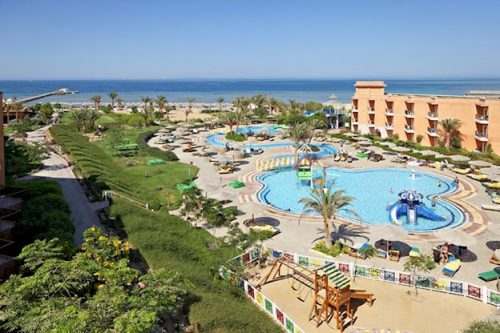 8 daagse vliegvakantie naar The Three Corners Sunny Beach Resort in hurghada, egypte
