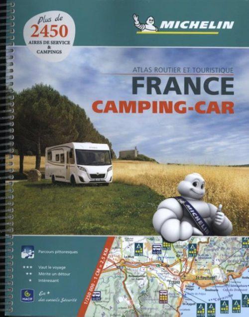 Atlas Michelin Frankrijk Camping Car 2018