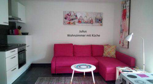 Ferienwohnungen Julius & Juliane super zentral