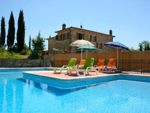 Vakantiehuis met zwembad in Toscane in Lucignano (Italië)