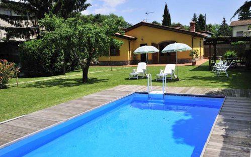 Vakantiehuis met zwembad in Toscane in San Colombano (Italië)