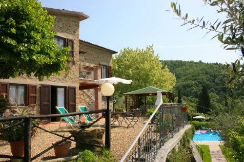 Vakantiehuis met zwembad in Toscane in San Giustino Valdarno (Italië)