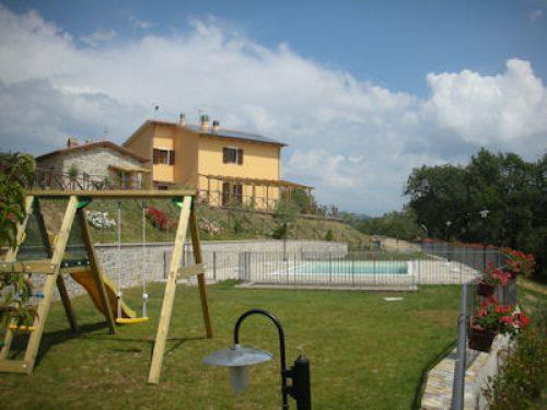 Vakantiehuis met zwembad in Umbrië in Casacastalda (Italië)